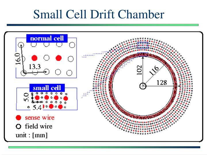 Small Cell Drift Chamber