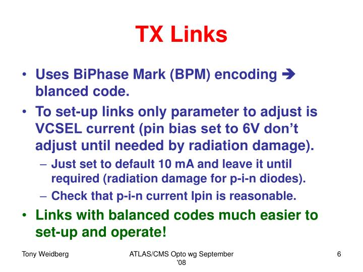 TX Links