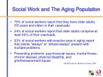social work and the aging population