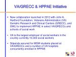 va grecc hppae initiative