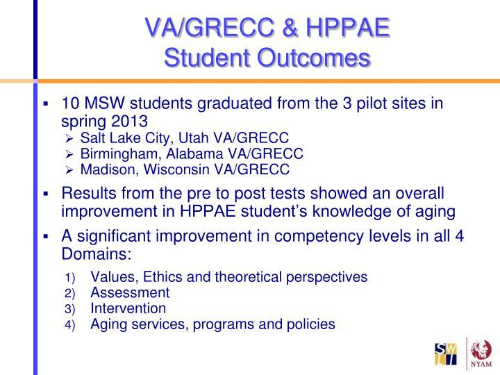 VA/GRECC & HPPAE
