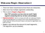 wide area rlogin observation 2