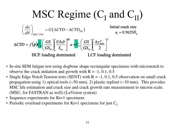 MSC Regime (C