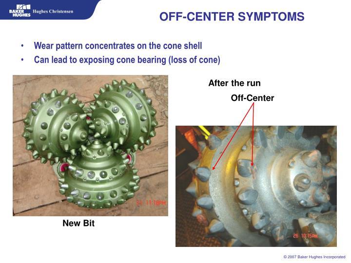 OFF-CENTER SYMPTOMS