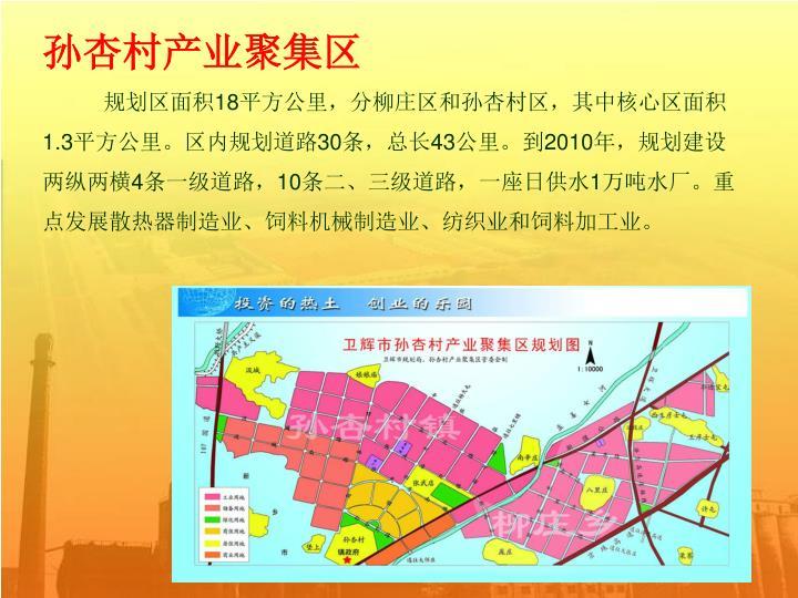 孙杏村产业聚集区