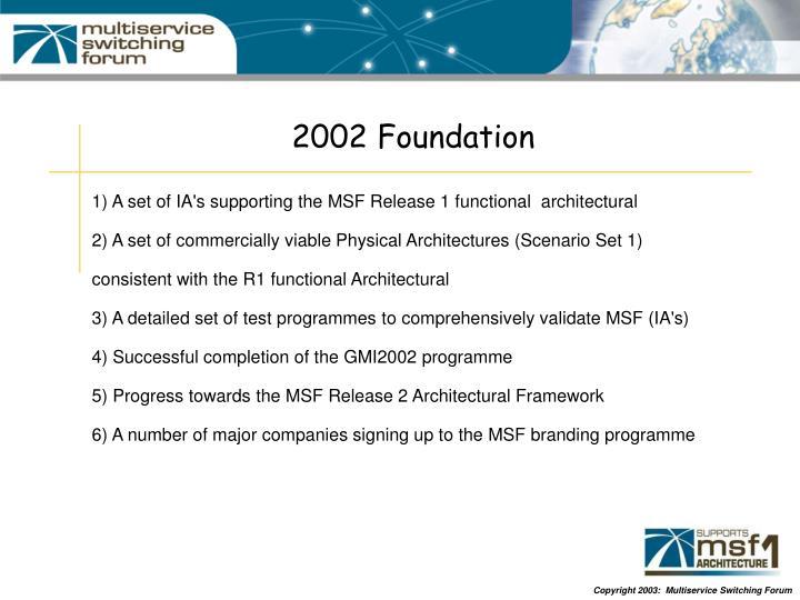 2002 Foundation