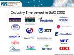 industry involvement in gmi 2002