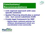 conclusions recommendations1