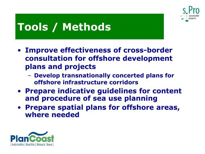 Tools / Methods