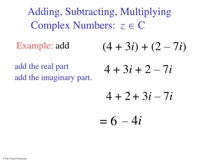 Adding, Subtracting, Multiplying