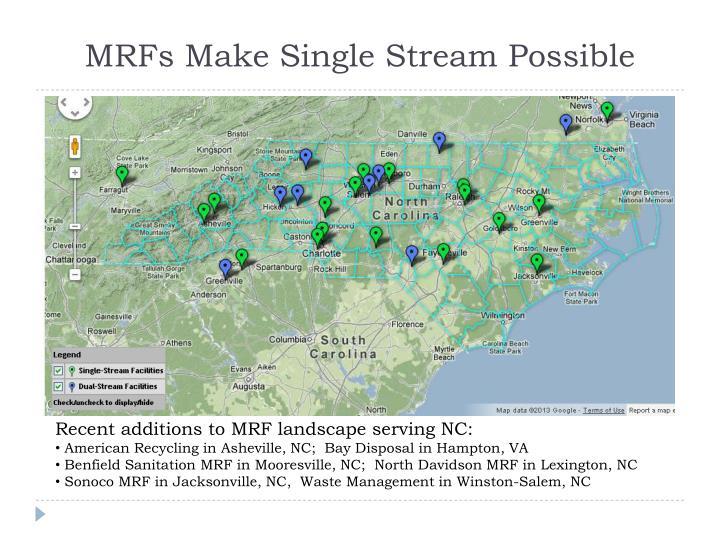 MRFs Make Single Stream Possible