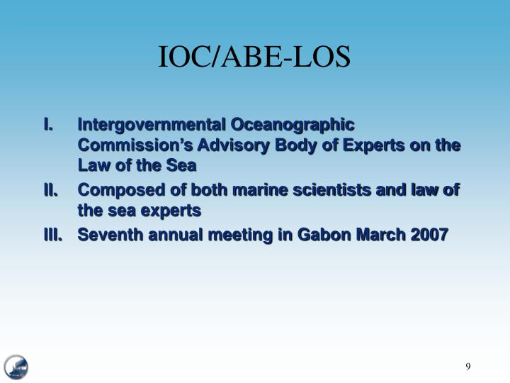 IOC/ABE-LOS