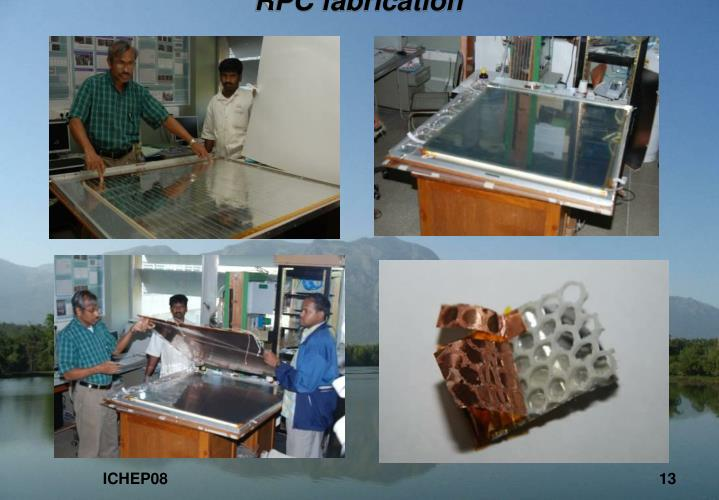 RPC fabrication