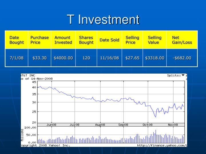 T Investment