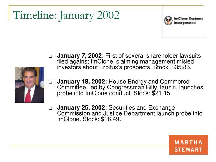 Timeline: January 2002
