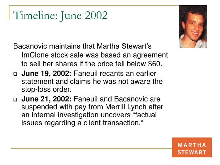 Timeline: June 2002