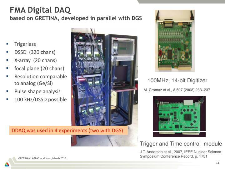FMA Digital DAQ