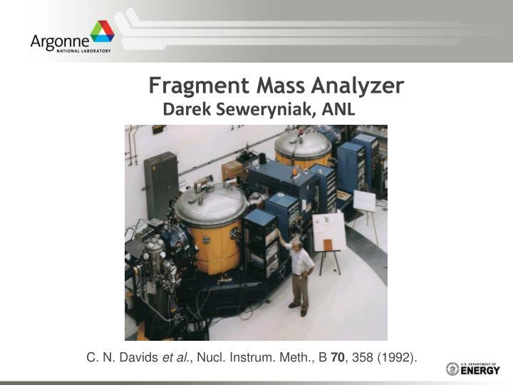Fragment Mass Analyzer