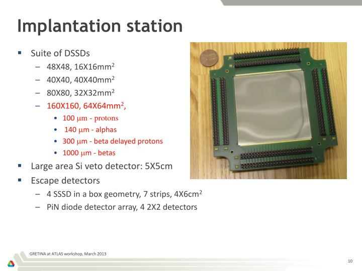 Implantation station