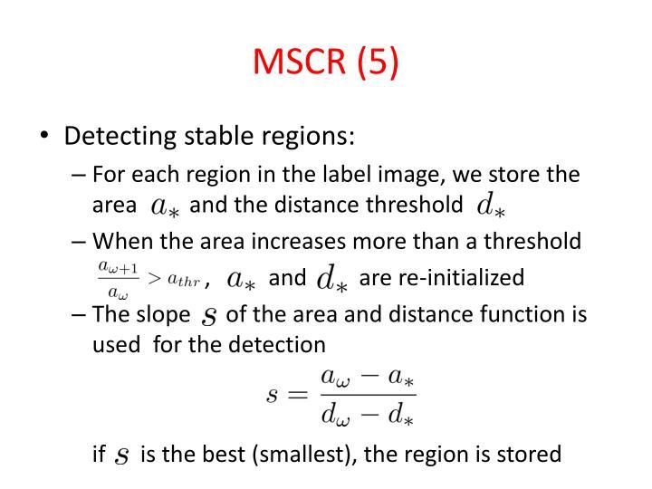 MSCR (5)