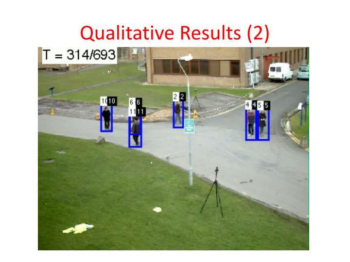 Qualitative Results (2)