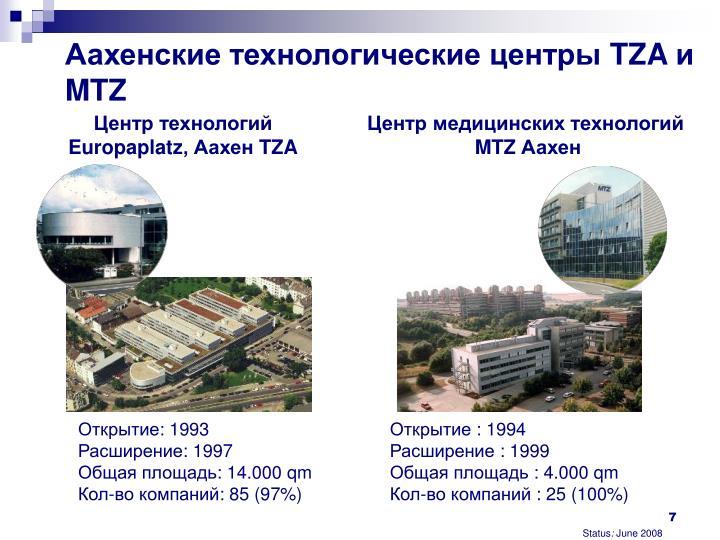 Аахенские технологические центры