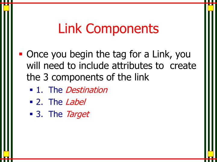 Link Components