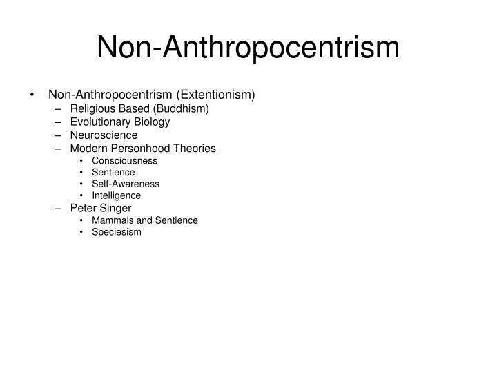 Non-Anthropocentrism