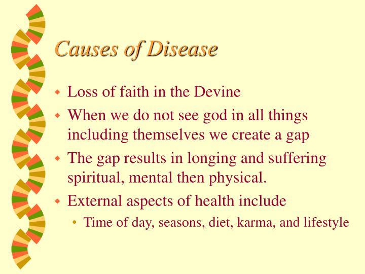 Causes of Disease