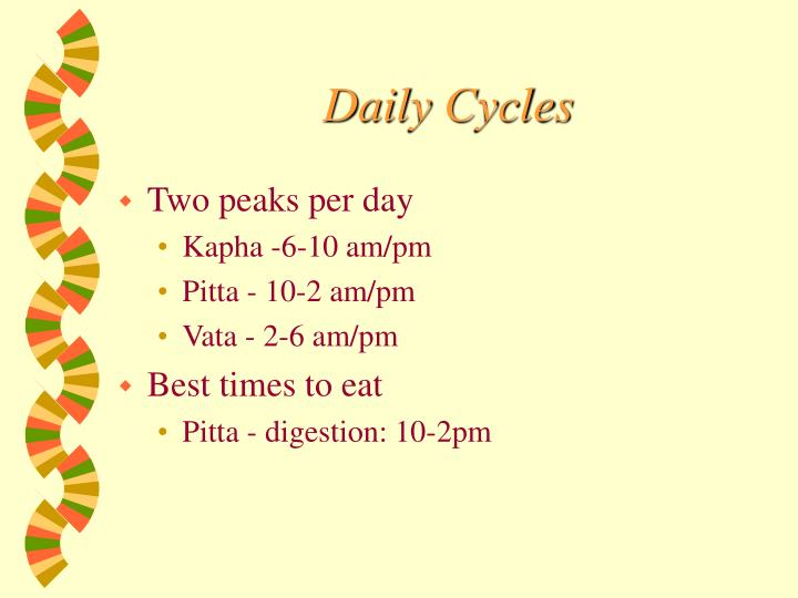 Daily Cycles
