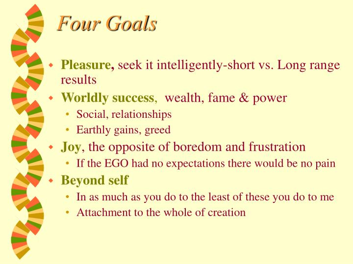 Four Goals