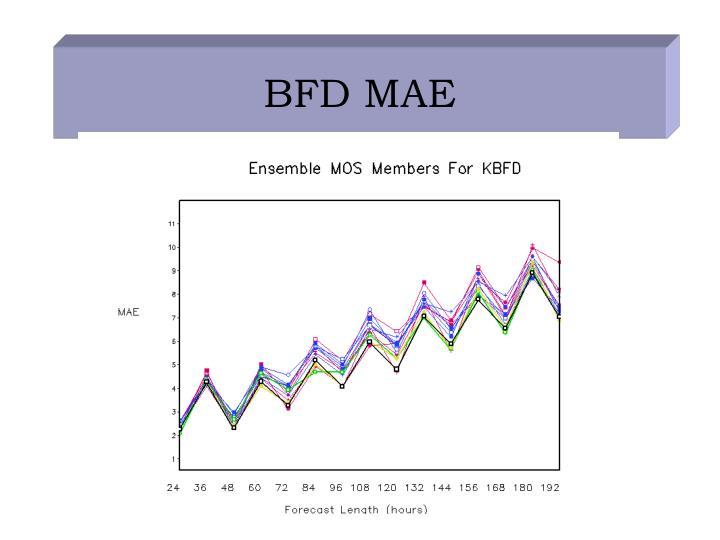 BFD MAE