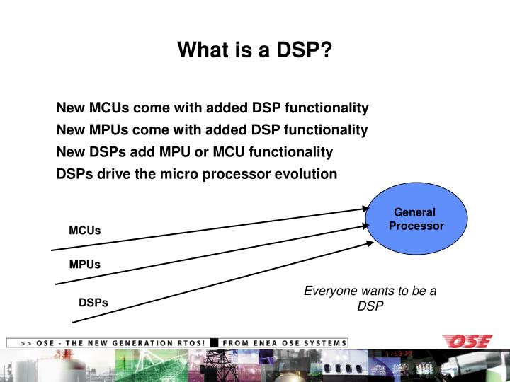 What is a DSP?