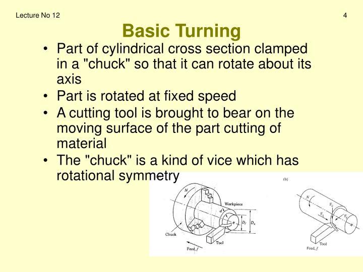 Basic Turning