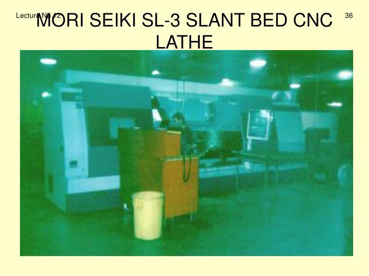 MORI SEIKI SL-3 SLANT BED CNC LATHE