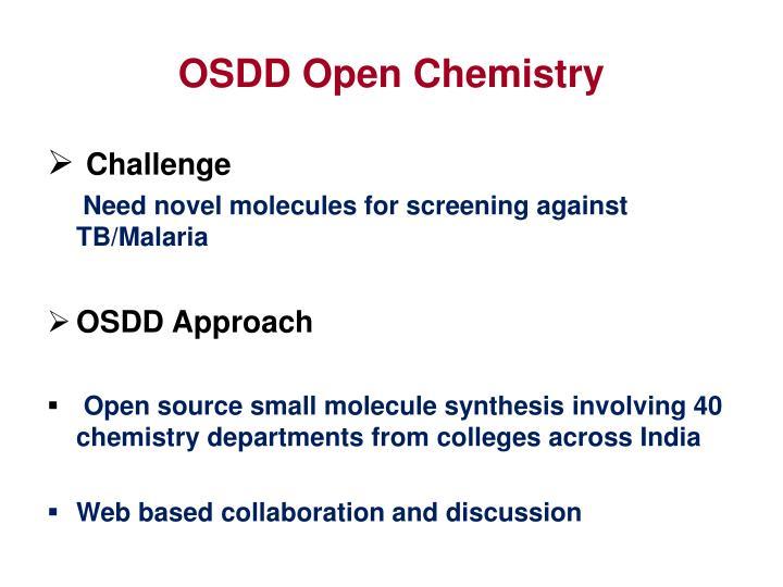 OSDD Open Chemistry