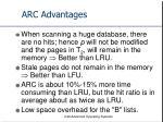 arc advantages