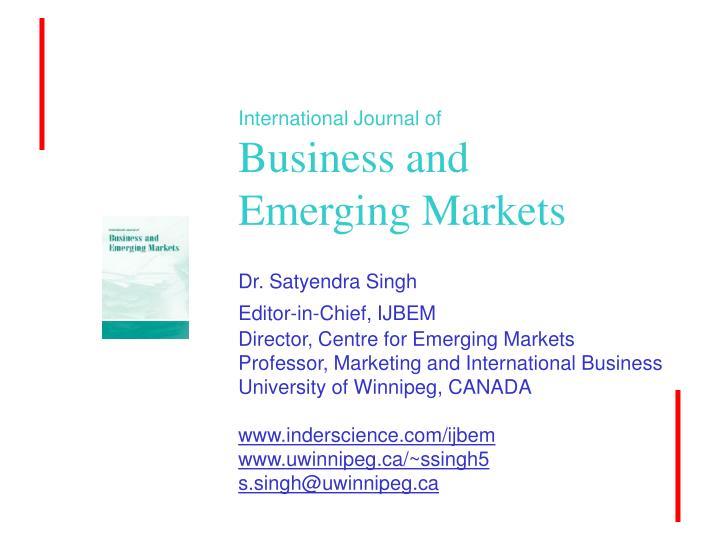 International Journal of