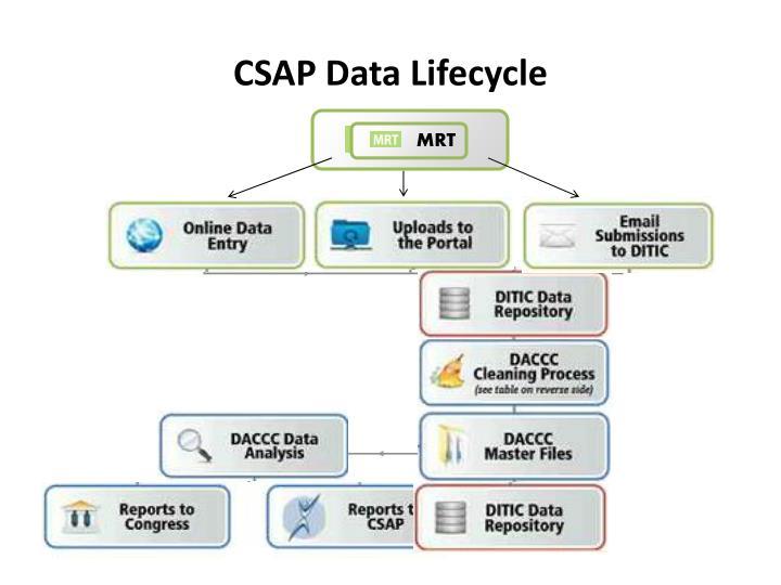 CSAP Data Lifecycle