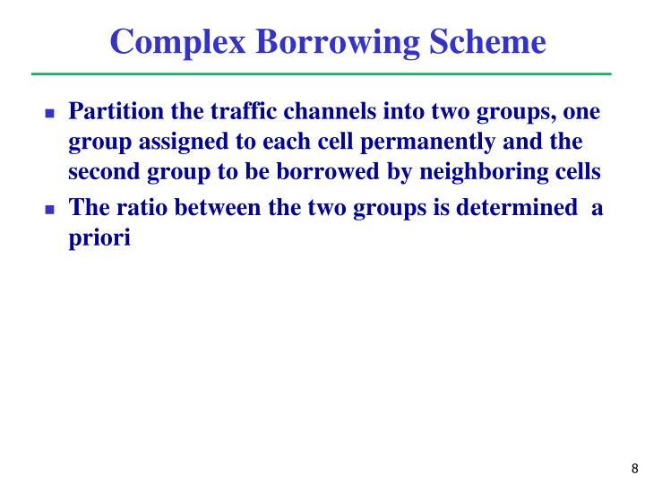 Complex Borrowing Scheme