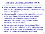 dynamic channel allocation dca