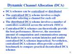 dynamic channel allocation dca1