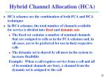 hybrid channel allocation hca