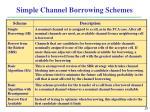 simple channel borrowing schemes1