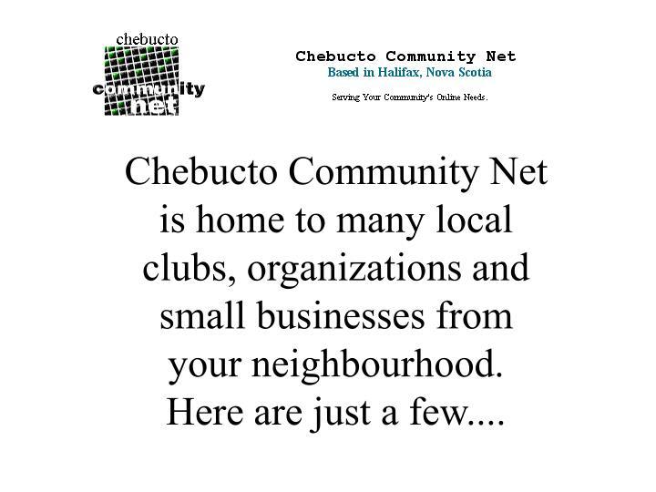 Chebucto Community Net