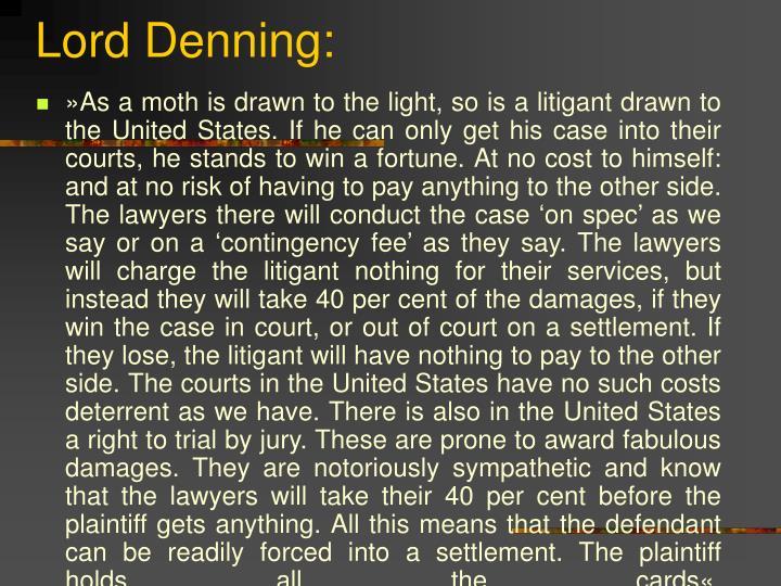 Lord Denning: