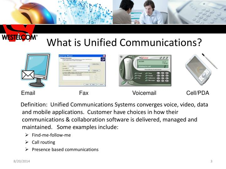 What is Unified Communications?