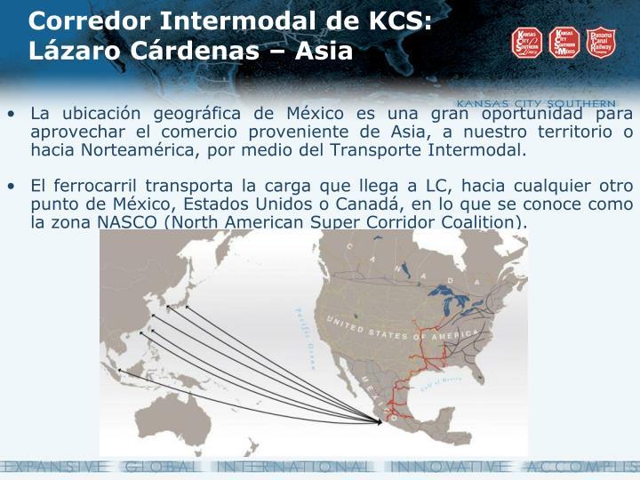 Corredor Intermodal de KCS: