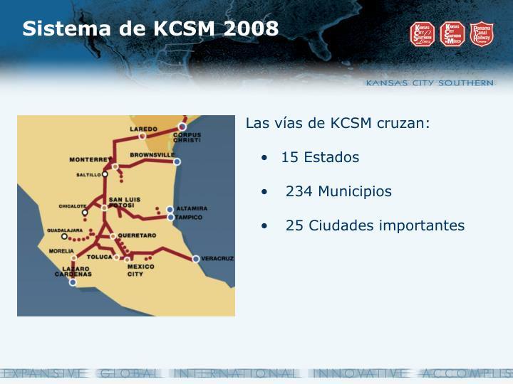 Sistema de KCSM 2008
