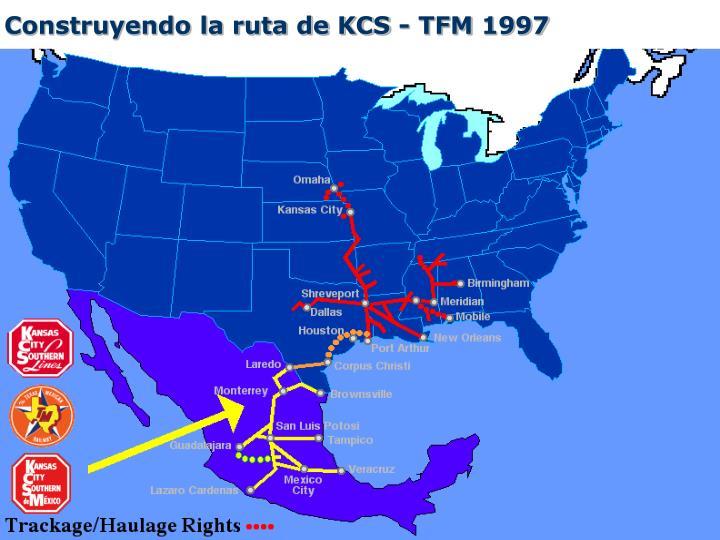 Construyendo la ruta de KCS - TFM
